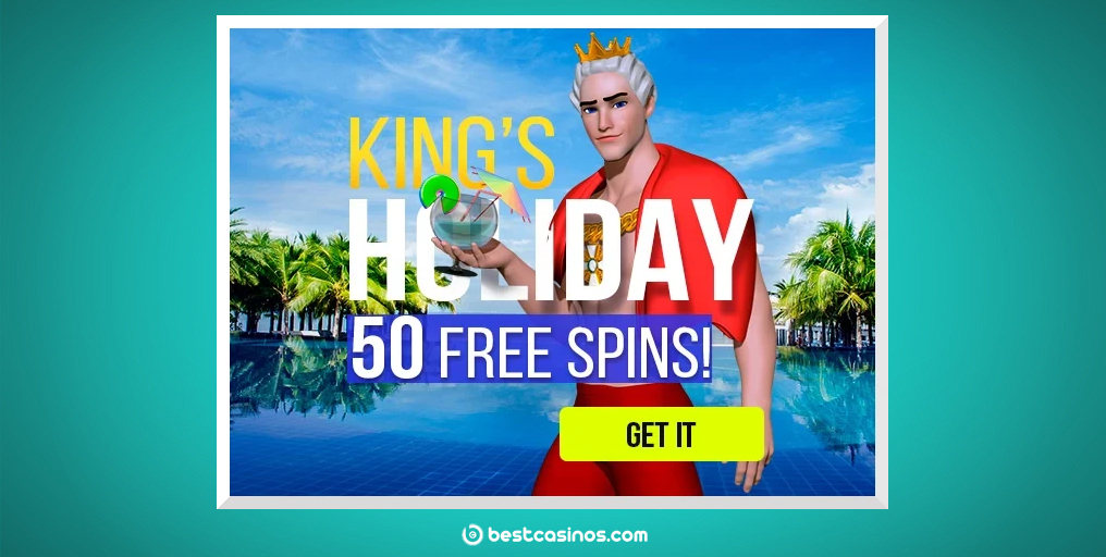KIng Billy Casino Promotion Free Spins Holiday