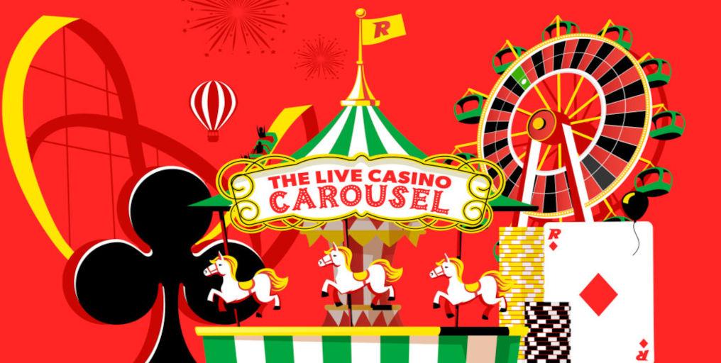 Rizk Live Casino Carousel Promotion